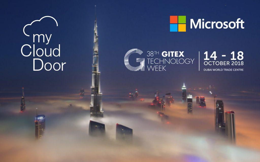 Myclouddoor At Gitex 2018 In Dubai Myclouddoor Expertise For